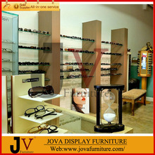 Hot selling store decoration for eyewear display showcase with free design