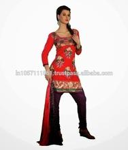 Salwar Kameez Full Sleeves