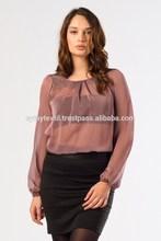 2014 New Summer Wholesale sale clothing chiffon women blouse