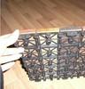 Supply customized plastic mat floor plastic MATS plastic parts (2014)