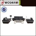 design de luxe moderne mobilier de bureau de bureau en cuir canapé ensemble