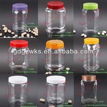 clear pet plastic mason jars bulk /acrylic candy stand ,chocolate jar, food storage