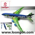Loongon uni sexe jouets pour vente friction avion bricolage buidling jouet en plastique avion hélice made in china