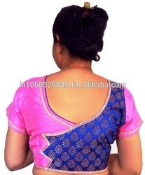 Stylish blouse design for saree (R2W022)
