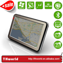 2014 spring sale 5 inch car navigation model no. K9 with bluetooth av-in 4GB 800Mhz