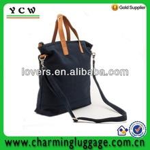 fashion canvas hand bag tote bag man handbag