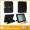 Fold design flip stand leather case for iPad 3
