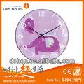 elefante dos desenhos animados relógio de design de moda relógio de parede animados