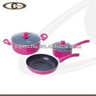 5pcs porcelain ceramic cookware high quality
