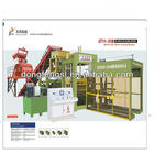 QTY10-15B Cement block making machine production line for hollow bricks,solid blocks,color pavement blocks,curbstones