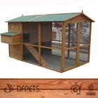 Chicken Coop House Rabbit Backyard Animal Nesting Wooden Cage Farm Puppys Dogs DFC008