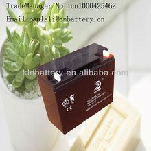 VRLA sealed lead acid storage 100ah battery for home ups