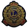 Blazer pocket security hand patch embroidered bullion badges