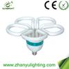 105w 110v t5 flower shape energy saving light bulb