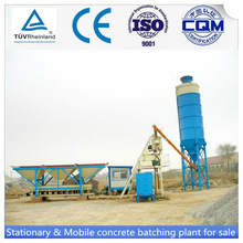 China made 25m3/h stationary HZS25 concrete batch plant cement mixing plant with CE and ISO9001