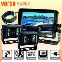 vehicle Reversing Camera Car 7 inch TFT LCD monito for Trucks/Farm Tractor/Heavy Equipment/Fork-lifts/RV