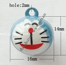 cartoon brass bell pendant