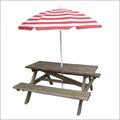 Nova faixa de areia de praia guarda-chuva com inclinação guarda-chuva relativo à promoção