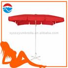 2M*3M*4K red color big umbrella for garden