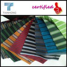 100% Cotton Stripe Fabric/Dobby Yarn Dyed Stripe Fabric