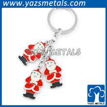 Customized keychain for christmas ornament