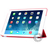 PU flip case for ipad air with crystal PC,for ipad air leather case