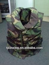 Camouflage soft body armor,PE&Kevlar full body armor bulletproof vest