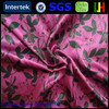 75D shiny waterproof 100% polyester wedding decoration satin fabric
