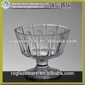 el diseño único del fashional de hielo taza de crema de artículos de vidrio de china