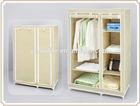 Modern folding fabric storage wardrobe wholesale