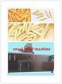 Máquina de salgadinhos, puff extrusora para fazer lanche