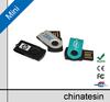 Cute mini usb flash drive, Swivel mini metal usb flash 16gb