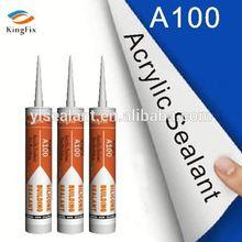 Water based acrylic sheet adhesive sealant for building Kingfix A100