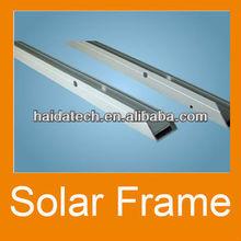 jiangsu well-known brand aluminum frame profile for solar energy