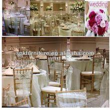 chiavari chair and wedding reception decoration chair