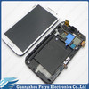 For samsung galaxy note 2 n7100 lcd with digitizer with frame