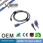 SIPU vga male to hdmi female