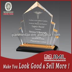 2014 Modern design high quality acrylic trophy base
