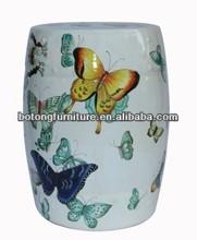 Oriental asia furniture porcelain stool