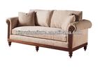 Europeanism solid wood hotel reception sofa XY0926
