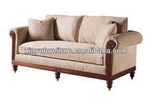 Europeanism solid wood hotel reception sofa XY0926