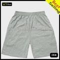 Aceitar amostra de seda mens shorts de corrida, plain shorts de corrida, impressão de curto prazo