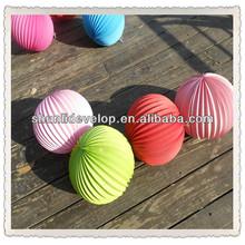 Cores do arco-íris papel acordeão lanternas para festoon o seu casamento e decorações do partido