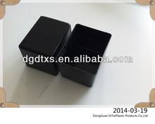 Vac forming rectangular plastic tubs