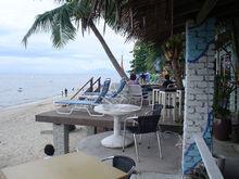 Sea-site Restaurant Decking - Wood Plastic