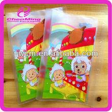 China yiwu printed color plastic opp plastic self adhesive book cover