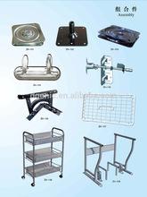 Custom sheet metal stamped hardware parts fabrication for furniture