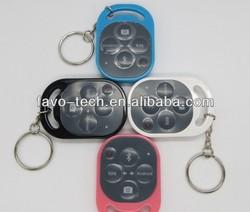 Portable mini wireless bluetooth self-timer remote control smartphone accessory