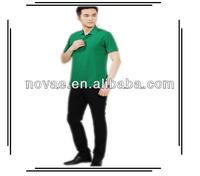 Plain white women uniform short sleeve t-shirts/shirt polo for company