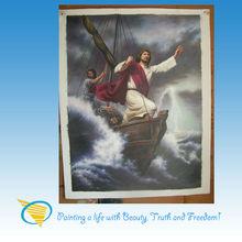 high quality handmade jesus canvas painting (Be still)